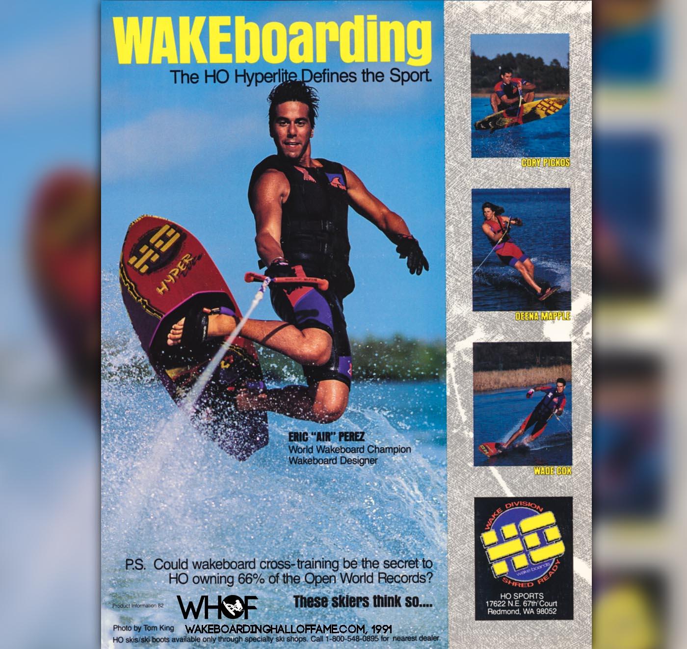 Eric Perez 1st Hyperlite Wakeboarding Ad Tom King