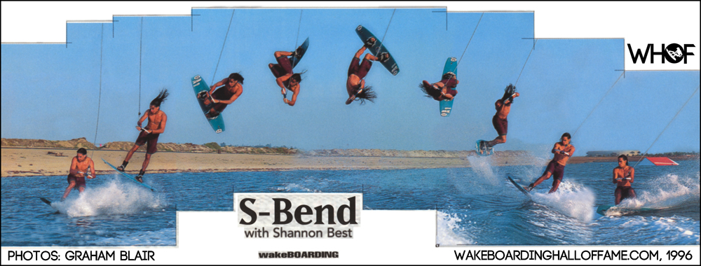 Shannon Best S-Bend Sequence Wakeboarding Magazine WHF Interview