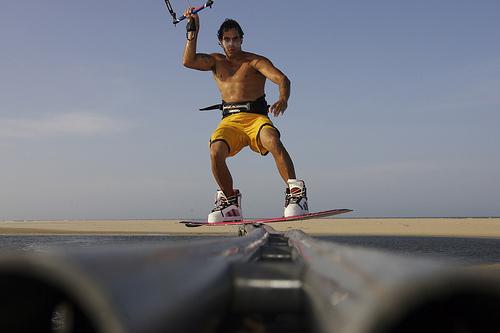 Shannon Best Kiteboarding wakeboarding slider WHF